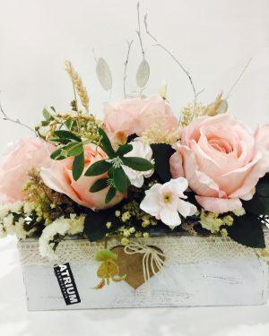 Arreglos flor seca y artificial
