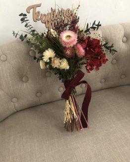 Arreglos flor seca y preservada